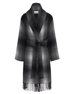 T BY ALEXANDER WANG Shawl Collared Wool Coat