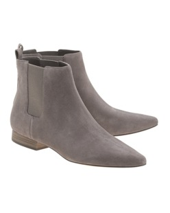 MICHAEL Michael KORS Pierce Flat Suede Grey