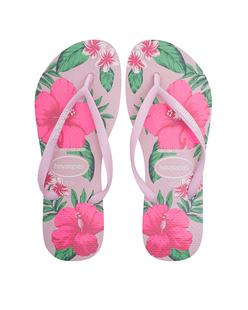 HAVAIANAS Slim Floral Pink