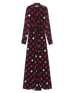 McQ by Alexander McQueen Dots Long Red White Black