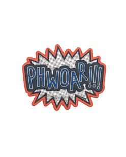 ANYA HINDMARCH Sticker Phwoar!!! Silver