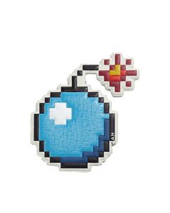 ANYA HINDMARCH Sticker Symbol Bomb Sea Blue
