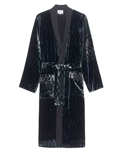 LALA BERLIN Kimono Djuna Kufiya Velvet