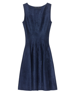 ANTONINO VALENTI Adelaide Skater Dress Blue