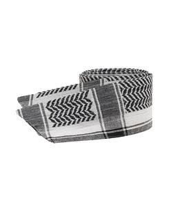CECILIE COPENHAGEN Keffiyeh Strap Black & White