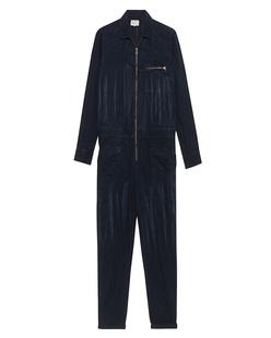 CURRENT/ELLIOTT Zip Rosie Asphalt Blue