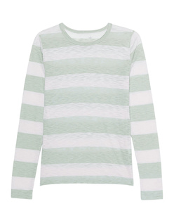 JUVIA Long Stripes Green