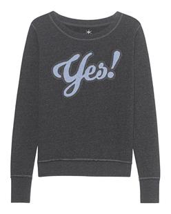 JUVIA Sweatshirt Yes Anthracite Melange