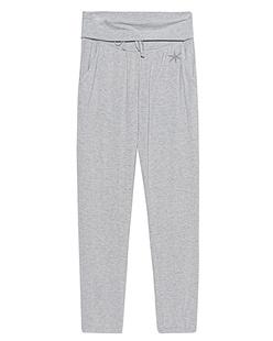 JUVIA Jersey Trousers Grey Melange
