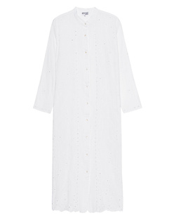 JULIET DUNN Embroidered Tunic Dress White