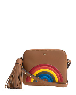 ANYA HINDMARCH Crossbody Rainbow Caramel