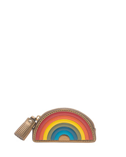 ANYA HINDMARCH Coin Purse Rainbow Bronze
