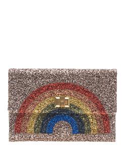 ANYA HINDMARCH Valorie Rainbow Glitter Bronze