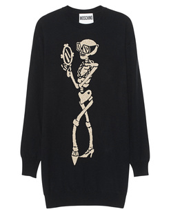 MOSCHINO Gold Black Knit