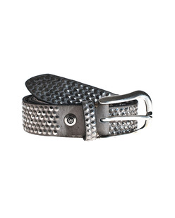 B.Belt Modern Studs Light Grey