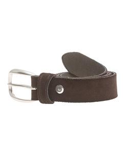 B.Belt Clean Suede Brown