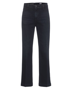 AG Jeans The Layla Trouser Flare Crop Dark Blue