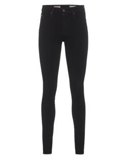 AG Jeans The Farrah Skinny High-Rise Black