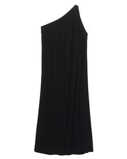 HELMUT LANG Asymmetric Shoulder Black