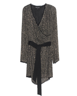 Rachel Zoe Collection Sequin Black Gold Silver