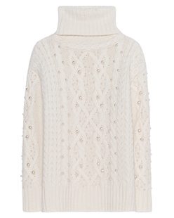 Rachel Zoe Collection Chunky Knit Pearl Ivory