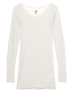 FRIENDLY HUNTING Pury Long Crew Neck Ivory