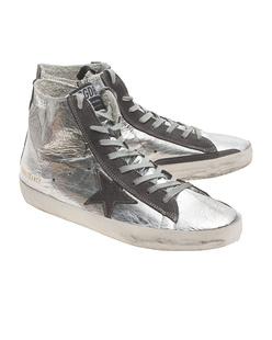 GOLDEN GOOSE Francy Silver Metal