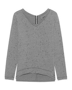 GWYNEDDS Wilma The Sweatshirt Dots Grey