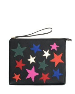HOUSE OF CASES Stars Black Multi
