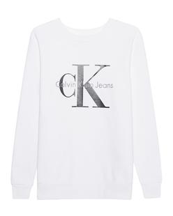 CALVIN KLEIN JEANS CK Sweat Logo White