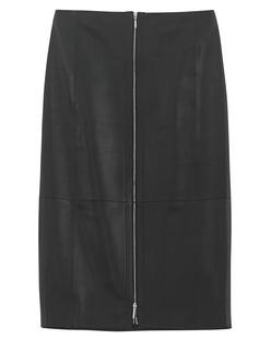 MUGLER PARIS Jupe Black Leather