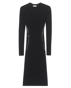 MUGLER PARIS Knit Robe Black