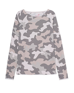 JUVIA Devoré Sweat Camouflage