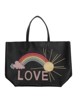 RED VALENTINO Love Rainbow Black Multi
