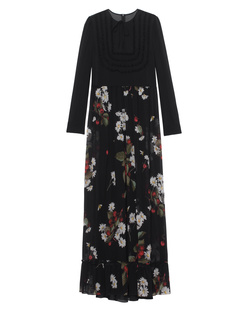 RED VALENTINO Cherry Daisy Long Black
