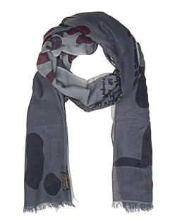ALBEROTANZA Light Pashmina Love All Out Grey