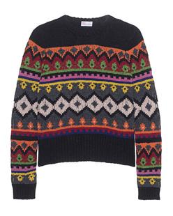 RED VALENTINO Chunky Knit Multi Black