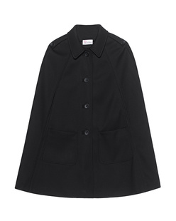 RED VALENTINO A-Line Patch Black
