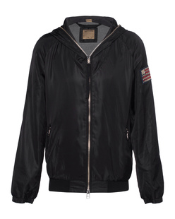 TRUE RELIGION Bomber Black