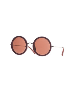 THE ROW EYEWEAR Lennon Burgundy Brown