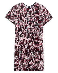 JUST CAVALLI Zebra Black Red