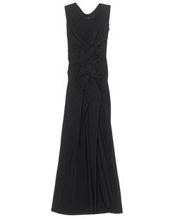 Plein Sud Long Robe Black