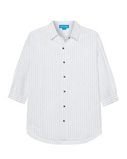 M.i.h JEANS Poets Shirt Ink Stripe