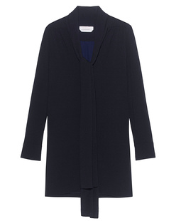 SEE BY CHLOÉ Clean Pleat Bow Dark Night