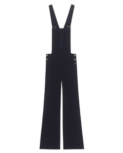 SEE BY CHLOÉ Overall Crepe Dark Night