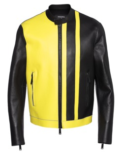 DSQUARED2 Two-Tone Yellow Black
