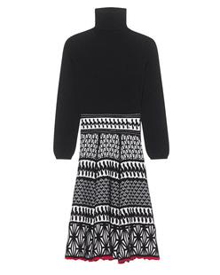 DSQUARED2 Knit Dress Black White