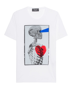 DSQUARED2 Skull White