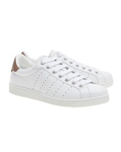 DSQUARED2 Sneaker Santa Monica Vitello Bianco