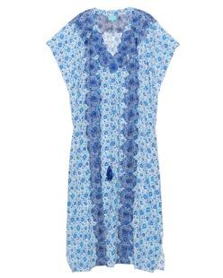 TAJ by Sabrina Crippa  Embroidery Blue White